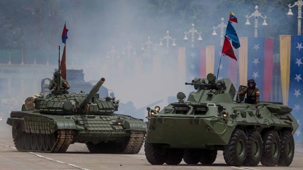 Actos celebrados este martes durante el Día de la Independencia de Venezuela