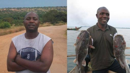 Bantu Lukambo y Josué Kambasu Mukura