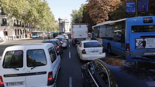 Una calle de Madrid durante el pasado Día Sin Coches (22 de septiembre)