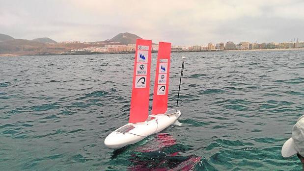 El A-Tirma G2, de dos metros de eslora, ya ha demostrado su eficacia y precisión en la navegación