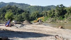 La extracción de arena aumenta la vulnerabilidad de riveras