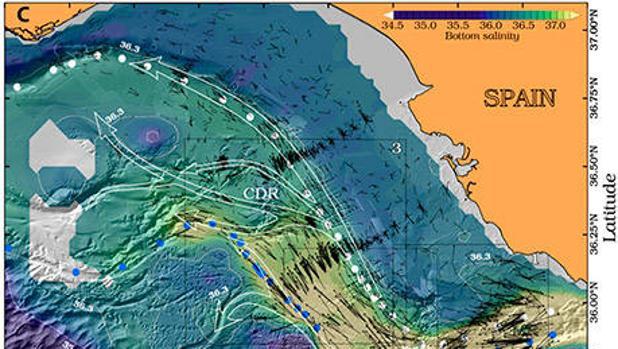 Mediterráneo: una corriente de salida cinco veces superior al caudal del río Amazonas