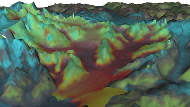 La Nasa pone a disposición del público un simulador de nivel del mar