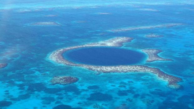 Red de reservas del arrecife de barrera de Belice