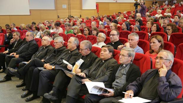 La V edición de la Jonnada de Iniciacación del Curso Pastoral se celebró en el colegio Infantes de Toledo