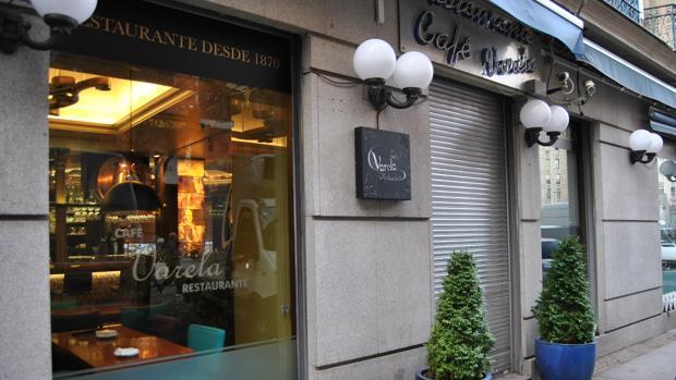 Actual fachada del Café Varela