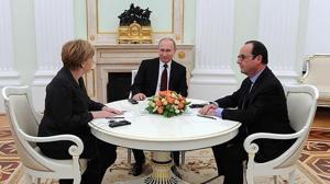 Putin cancela su encuentro con Hollande en París y Merkel les invita a los dos a cenar en Berlín