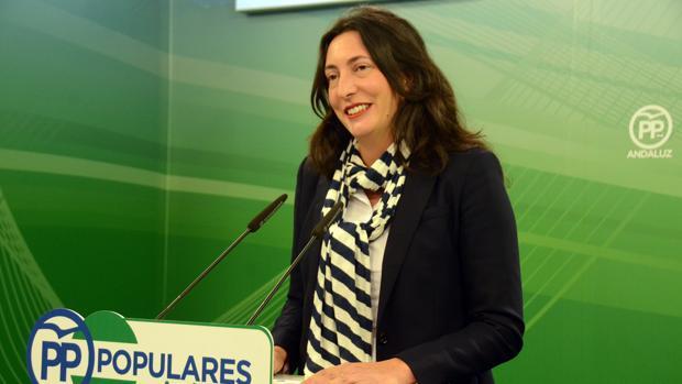 Loles López Gabarro, secretaria general del PP andaluz