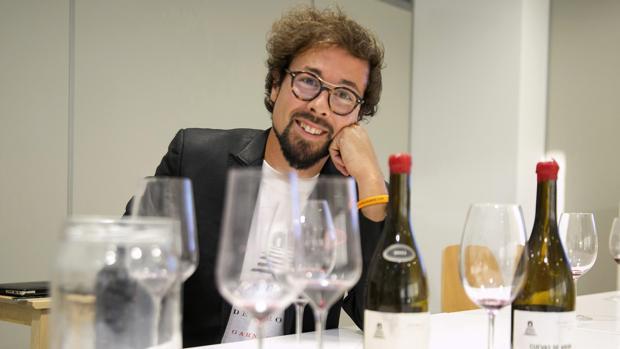 Fernando Mora, uno de los dos españoles que forman parte del Institute of Master of Wine