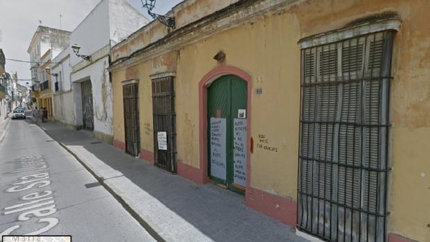 La calle Santa Lucía de El Puerto de Santa María
