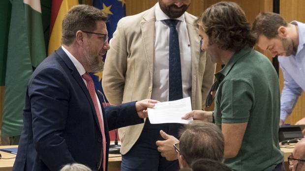 El consejero de Agricultura, Pesca y Desarrollo Rural, Rodrigo Sánchez Haro