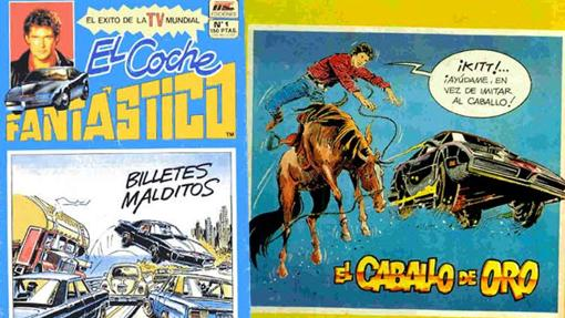 Los cómics de El Coche Fantástico...