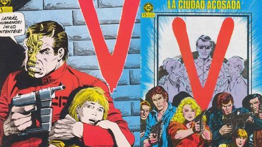 Los cómics de la serie V