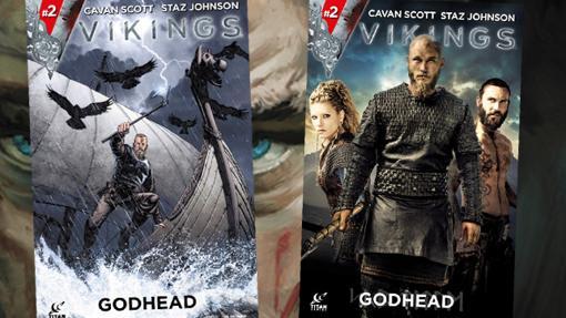 Cada nº de Vikingos cuenta con portadas alternativas