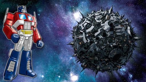Cybertron el planeta de Optimus Prime y los transformers
