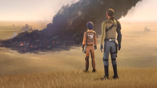 Con un poco más de vegetación que Tatooine, Lothal sufrío enormes perdidas por culpa del Imperio