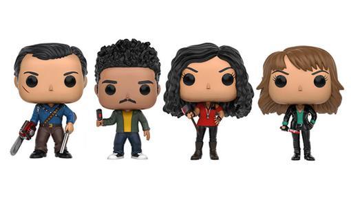 Ash, Pablo, Kelly y Ruby forman la colección Funko Pop! de Ash Vs Evil Dead