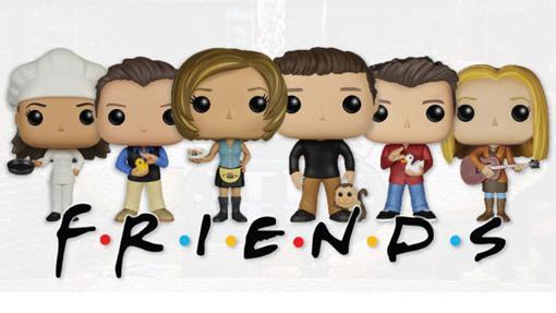 Los chicos y chicas de Friends en formato Funko Pop!