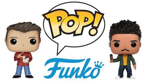 ¿Reconoces a estos personajes de series en formato Funko Pop!?