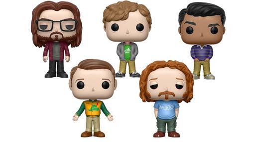 Gilfoyle, Richard, Danesh, Jared y Erlich de Silicon Valley también tienen sus Funko Pop!