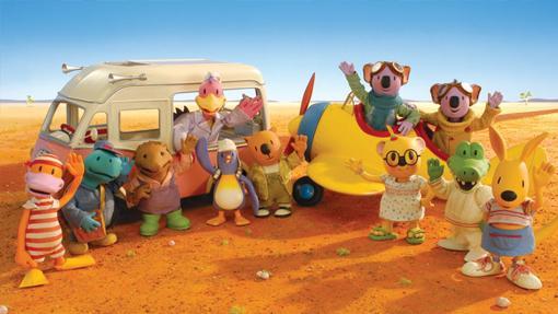 Los hermanos Koala y sus vecinos