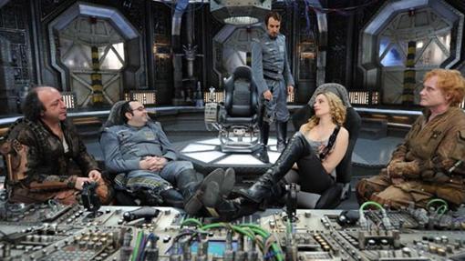 La tripulación del Plutón BRB Nero