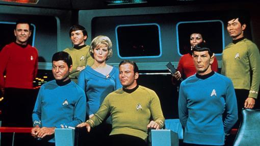 La tripulación original de la Enterprise