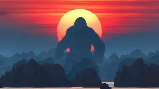 Kong y la Isla de la calavera