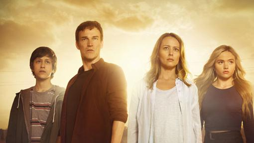 La familia protagonista de The Gifted