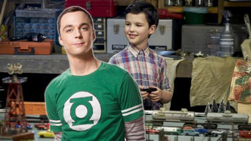 El Sheldon de The Big Bang Theory y el de la precuela / spin-off Young Shedon