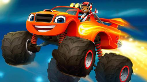 A.J. y Blaze, su Monster Truck