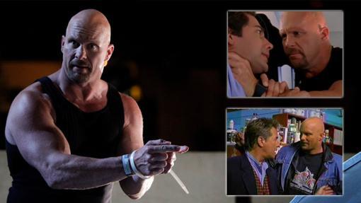 Steve Austin en sus diferentes apariciones televisivas