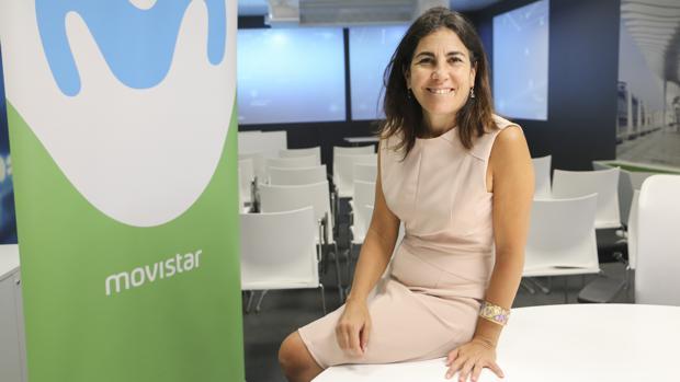 María Jesús Almazor, directora del Territorio Sur de Telefónica España