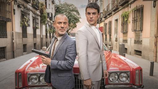 Javier Gutiérrez y Alejo Sauras, protagonistas de la serie.