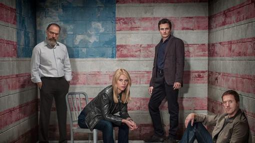 Cartel promocional de la tercera temporada de 'Homeland'.