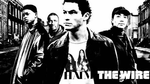 Cartel promocional de la serie 'The Wire'.