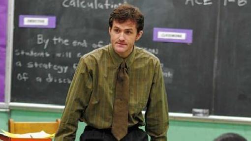 El profesor 'Prez' tiene que lidiar con alumnos peligrosos en 'The Wire'