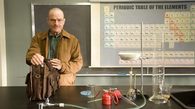 Walter White era profesor de Química.