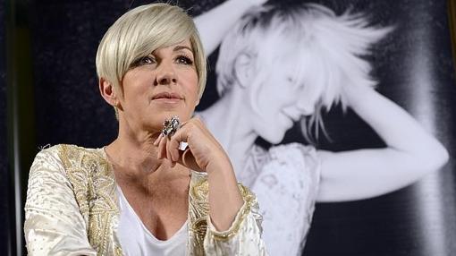 Ana Torroja durante la presentación de su disco 'Conexión'.