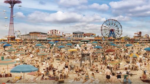 Fotograma de la película 'Wonder Wheel', de Woody Allen.