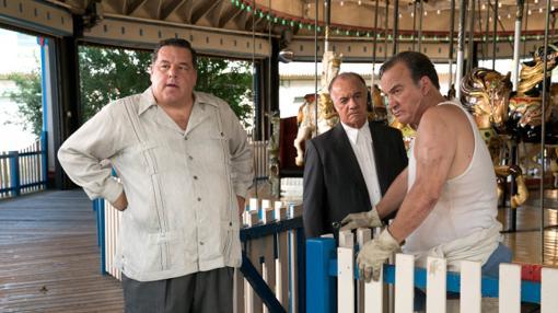 Steve Schirripa y Tony Sirico aparecen en la película 'Wonder Wheel'.