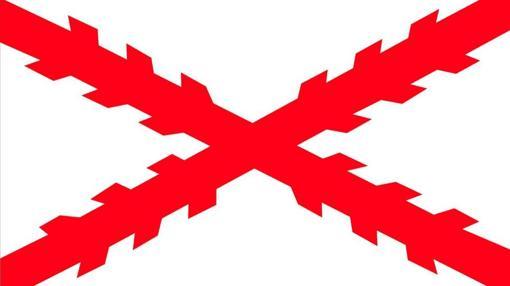 Ejemplo de la Cruz de Borgoña.