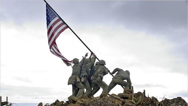 'Banderas de nuestros padres'', película de Clint Eastwood.