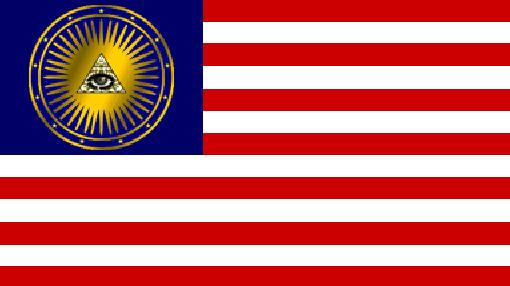 Bandera oficial de la República de Gilead en 'The Handmaid's Tale'.