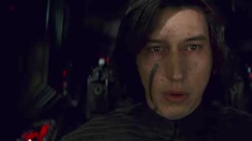 Adam Driver es Kylo Ren, el 'Dark Vader' de las nuevas películas de Star Wars.