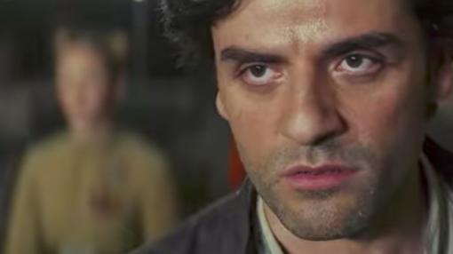 Poe Dameron, el piloto interpretado por Oscar Isaac.