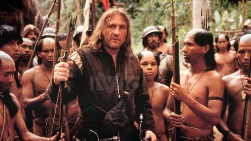 Gerard Depardieu es Cristobal Colón en la película de Ridley Scott.