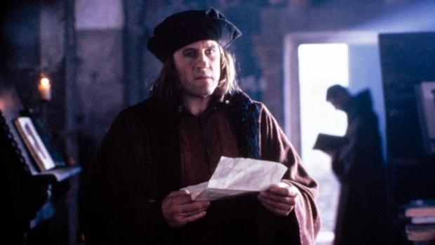 Gerard Depardieu es Cristobal Colón en '1492: la conquista del paraíso'.