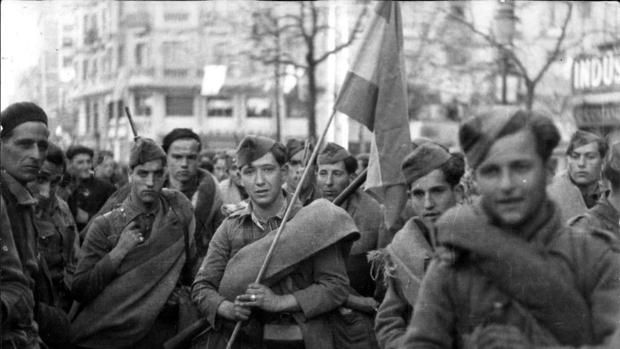 Fotografía del archivo de ABC de la Guerra Civil española.