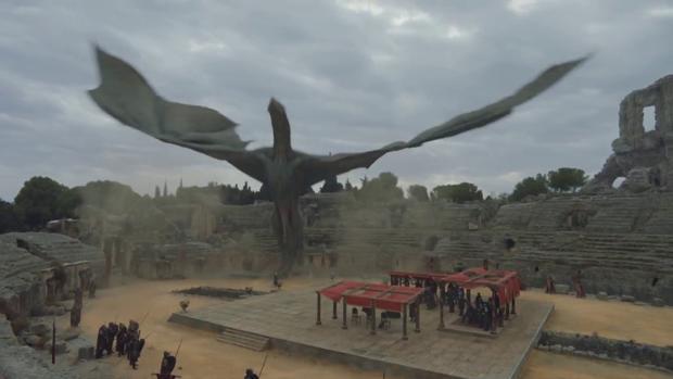 Las ruinas de Itálica forman parte de 'Juego de tronos'.